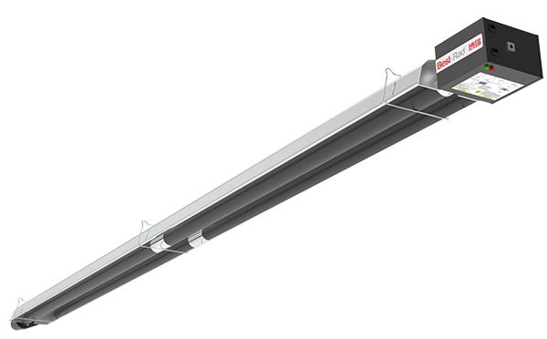 标准负压直线型燃气红外线采暖设备