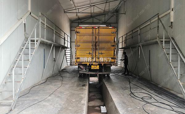 饲料厂运输车辆洗消中心